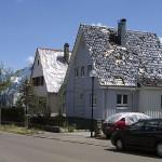 Dämmung unter dem Dach minimiert das Risiko von Wasserschäden