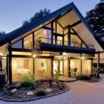 Maßgeschneiderte Häuser in Holzständerbauweise