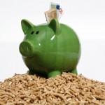 Mit Pellets heizen und doppelt sparen: Staat erhöht Förderung für Heizungstausch