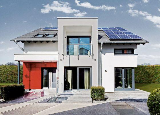 Moderne Fertighäuser besitzen eine umfassende Gesamtqualität und bieten damit höchste Zukunftssicherheit für Bauherren. Foto: BDF/OKAL